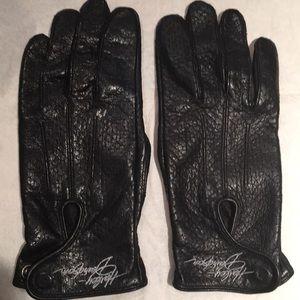Harley Davidson leather gloves